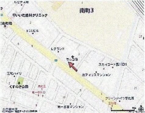 店舗事務所(建物一部)-蕨市南町3丁目 地図