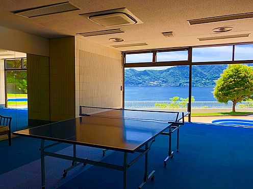 中古マンション-熱海市上多賀 卓球は1時間500円で利用可能。