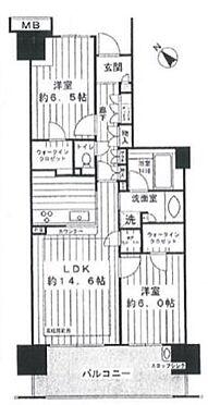 中古マンション-江東区豊洲4丁目 間取り