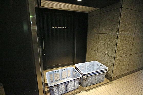 マンション(建物一部)-名古屋市中区大井町 マンション内のごみ収集場所です