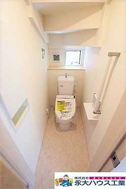 新築一戸建て-岩沼市平等3丁目 トイレ