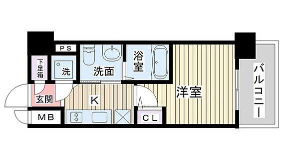 マンション(建物一部)-大阪市淀川区新北野3丁目 2点セパレートで清潔感があります。