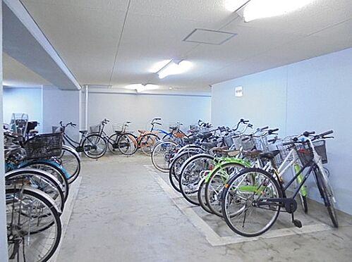 区分マンション-京都市下京区上柳町 屋内駐輪場