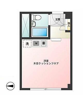 マンション(建物一部)-港区赤坂9丁目 間取り