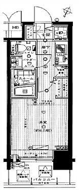 マンション(建物一部)-大阪市福島区大開2丁目 シンプルなワンルームの間取り