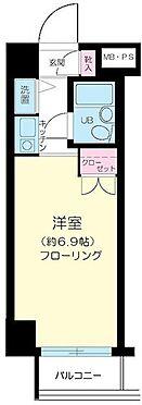 マンション(建物一部)-足立区千住大川町 間取図