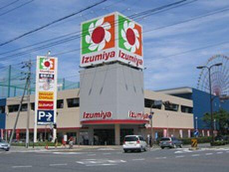 アパート-大津市真野1丁目 【スーパー】イズミヤ堅田店まで1151m