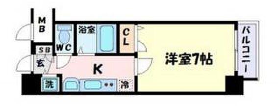 マンション(建物一部)-神戸市中央区下山手通7丁目 間取り