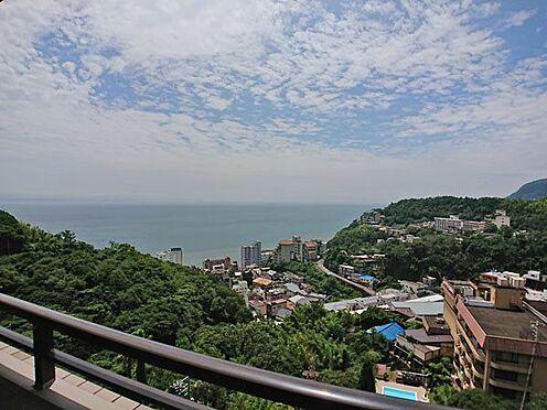 中古マンション-賀茂郡東伊豆町奈良本 バルコニースペースからの雄大な眺めです。