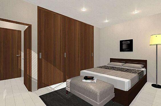 戸建賃貸-尾張旭市旭台2丁目 【リフォーム1100万円プラン】2階和室を洋室に変えたプランです。