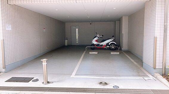 区分マンション-江東区新大橋3丁目 バイク置場!