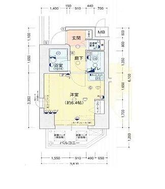 マンション(建物一部)-大阪市淀川区塚本4丁目 間取り