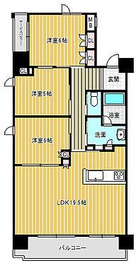 中古マンション-和歌山市太田1丁目 間取り