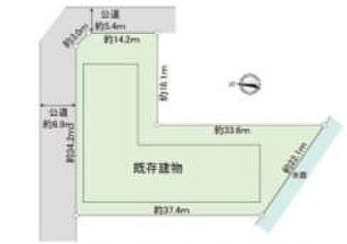 寮-さいたま市浦和区本太5丁目 区画図