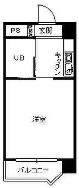 中古マンション-福岡市博多区博多駅東2丁目 間取り
