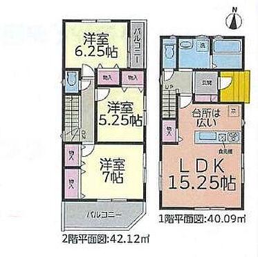 新築一戸建て-名古屋市緑区相川1丁目 間取り図
