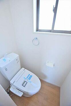 新築一戸建て-仙台市若林区上飯田3丁目 トイレ