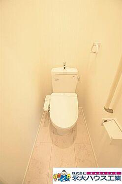 戸建賃貸-仙台市太白区鈎取3丁目 トイレ