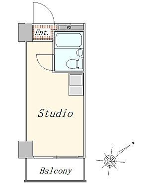 マンション(建物一部)-横浜市西区平沼1丁目 1R 11.09平米