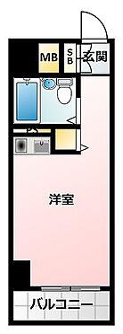 区分マンション-大阪市生野区勝山南4丁目 シューズボックスやクローゼットもあるので、ひとり暮らしには便利。