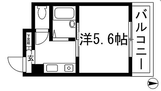 マンション(建物全部)-池田市栄本町 間取り