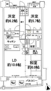 マンション(建物一部)-横須賀市鴨居2丁目 間取り