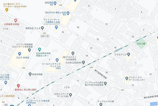 マンション(建物一部)-北九州市小倉北区高峰町 地図