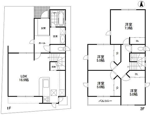 建物全部その他-豊中市穂積1丁目 南向きの4LDK、月額賃料135000円