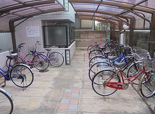 マンション(建物一部)-神戸市灘区浜田町4丁目 屋根付きの駐輪場