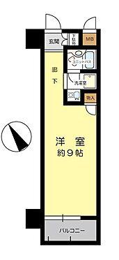 マンション(建物一部)-大阪市中央区高津3丁目 間取り