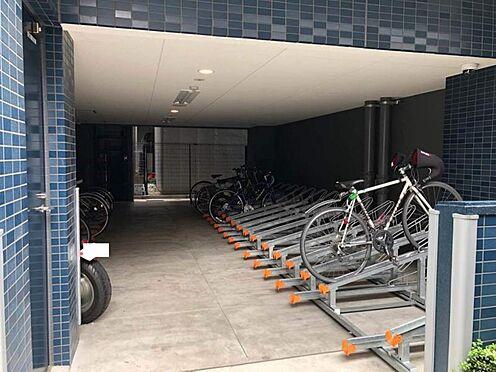 区分マンション-名古屋市中区新栄1丁目 整理された駐輪場