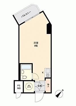 中古マンション-横浜市中区若葉町3丁目 間取り