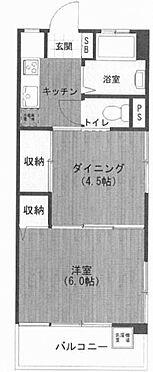 中古マンション-渋谷区本町6丁目 間取り