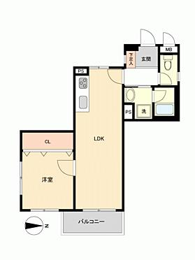 マンション(建物一部)-金沢市入江 間取り