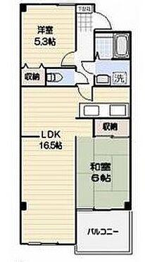 マンション(建物全部)-三郷市戸ヶ崎 間取り