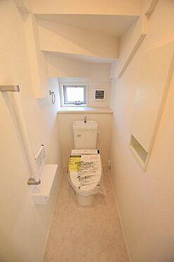 新築一戸建て-仙台市宮城野区原町5丁目 トイレ