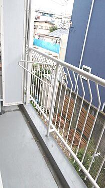中古マンション-渋谷区西原2丁目 南東向きのバルコニーです