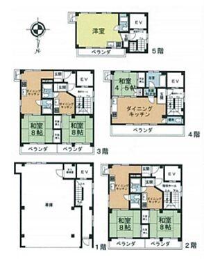 一棟マンション-台東区東上野6丁目 間取り