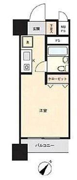 区分マンション-横浜市中区寿町1丁目 1K専有面積:16.36平米 バルコニー面積:1.96平米