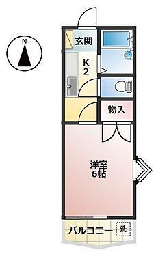 マンション(建物全部)-高知市新田町 間取り