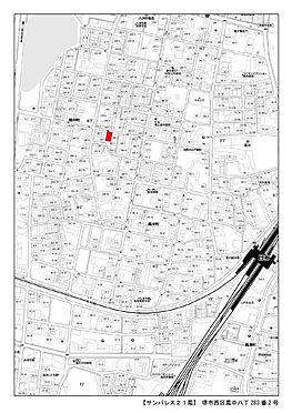 マンション(建物全部)-堺市西区鳳中町8丁 地図
