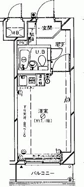 マンション(建物一部)-葛飾区東新小岩1丁目 間取り