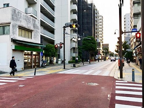 アパート-藤沢市藤沢 周辺の街並みまで100m