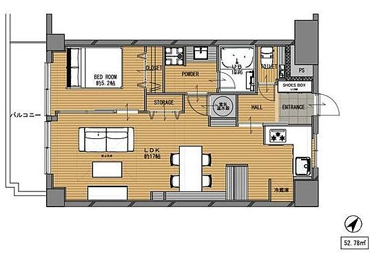 区分マンション-福岡市南区高宮1丁目 2021年3月内装フルリノベーション済み。