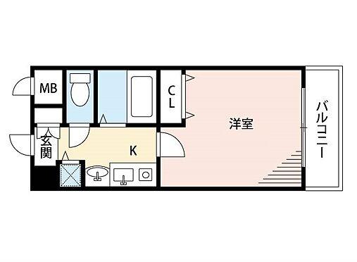 マンション(建物一部)-大阪市西淀川区花川2丁目 ひとり暮らしに使い勝手がいい間取り