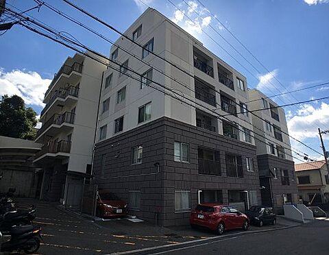 マンション(建物一部)-神戸市垂水区千代が丘1丁目 ツートンカラーのおしゃれな外観