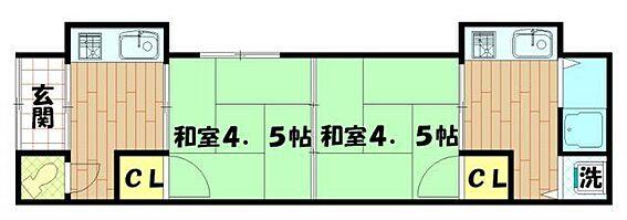 アパート-神戸市長田区高取山町1丁目 間取り