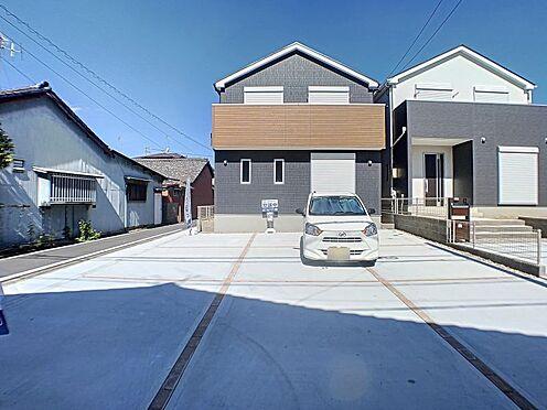 新築一戸建て-名古屋市守山区鳥羽見1丁目 駐車6台可能な広々とした敷地