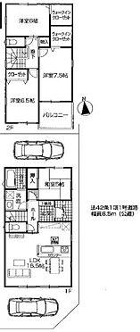 戸建賃貸-名古屋市港区秋葉1丁目 ◆全2棟、新築戸建て物件◆土地・建物面積30坪超◆4LDK、駐車2台可能◆東南角地