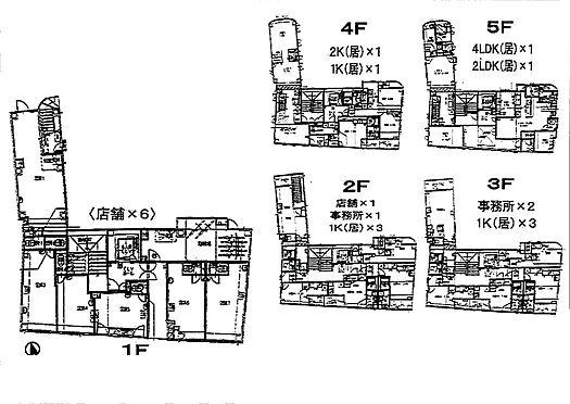 ビル(建物全部)-横浜市中区曙町3丁目 間取り